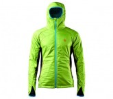 Insulator Jacke Jannu Herren green lime/duck blue