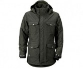 Jacke Patch Herren stone green