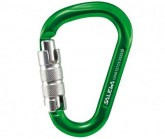 Karabiner HMS Safe Lock G2 lime green