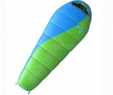 Kinderschlafsack Merlot -10°C green/blue