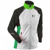 Langlaufjacke Champion Damen snow white/jasmine green/lolly