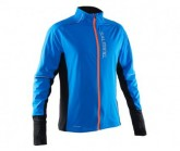Laufjacke Thermal Wind Herren electric blue/black