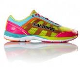 Laufschuh Distance 3 Damen Gelb/Pink