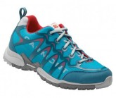 Laufschuh Hurricane Damen aqua blue/red