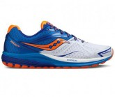 Laufschuh Ride 9 Herren white/blue/orange