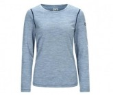 Longsleeve Base Crew Neck 230 Damen light tempest 3D/ocean deep