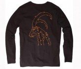 Longsleeve Lines Game Herren Moonless Black
