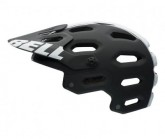 MTB-Helm Super 2 16 mat black/white viper