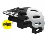 MTB-Helm Super 2 Mips Unisex mat black/white aggression