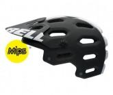 MTB-Helm Super 2 Mips Unisex mat black/white viper