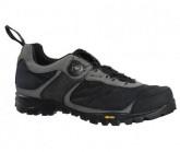 MTB-Schuh MX105 Damen schwarz/grau