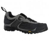 MTB-Schuh MX105 Herren schwarz/grau