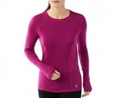 Merino Shirt PHD LS Damen berry
