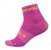 Merino Socke Sport Ankle Damen fuchsia/cerise
