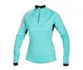 Midlayer Morden Long Half Zip Damen pool