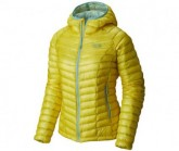 Mountain Hardwear Daunen Jacke Ghost Whisperer Hooded Damen Lemon Twist
