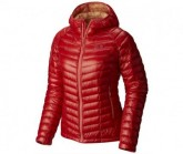 Mountain Hardwear Daunen Jacke Ghost Whisperer Hooded Damen Scarlet Red