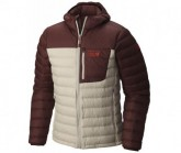 Mountain Hardwear Daunenjacke Dynotherm Hooded Herren Fossil/Redwood