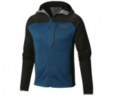 Mountain Hardwear Midlayer Desna Grid Hooded Jacket Herren Phoenix Blue