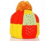 Mütze Bonbon Unisex gelb/orange/grün