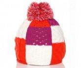 Mütze Bonbon Unisex orange/pink/weiß