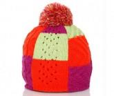 Mütze Bonbon Unisex pink/orange/grün