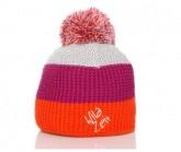 Mütze Dreiklang Unisex orange/pink/fumo