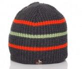 Mütze Querdenker Unisex anthrazit/orange/grün