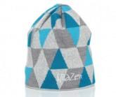 Mütze Triangle Unisex alu/türkis