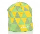 Mütze Triangle Unisex grün/gelb