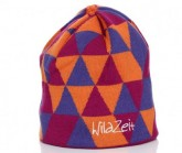 Mütze Triangle Unisex pink/orange