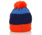 Mütze Trio Unisex orange/mystico/blau