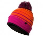 Mütze Waterproof Bobble Unisex methyl orange/neon coral/fluo pink/black