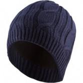 Mütze Waterproof Cable Knit Beanie Unisex Blue