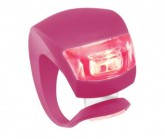 Multifunktionslicht Beetle rote LED pink