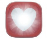 Multifunktionslicht Blinder 1 Hearts red