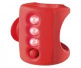Multifunktionslicht Gekko weiße LED red