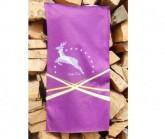 Multifunktionstuch Hirsch Unisex lila
