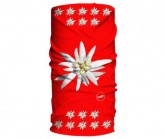 Multifunktionstuch Original Unisex big edelweiss red