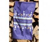 Multifunktionstuch Rehlein Unisex aubergine