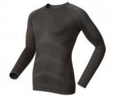 Odlo Funktionsshirt LS Crew neck evolution x-warm Damen black-fiery red