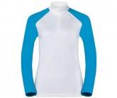 Odlo Midlayer 1/2 Zip Pazola Damen white-vivid blue