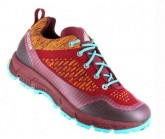 Outdoor Schuh Super Leggera LC DDS Damen aubergine/orange