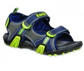 Outdoorsandale Crocodile Kinder lime
