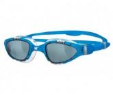 Predator Flex Schwimmbrille L.Smoke/blue, Gr. onesize