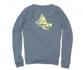 Pullover Polygony Crew Herren Dusty Blue