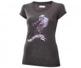 Rad Shirt Hell of a Ride Damen  grey melange