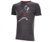 Rad Shirt Hell of a Ride Herren grey melange