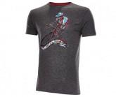 Rad Shirt Hell of a Ride Herren grey melange