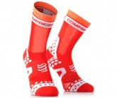 Rad Socke PRS Ultralight Bike High Unisex red/white